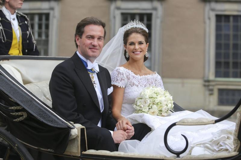 Sweden's Princess Madeleine weds 4c2b9f10