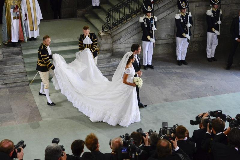 Sweden's Princess Madeleine weds 50a2d010
