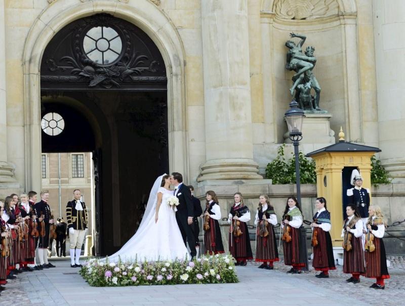 Sweden's Princess Madeleine weds 61e44d10