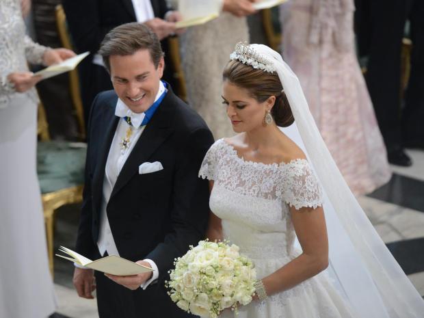 Sweden's Princess Madeleine weds Ap202110