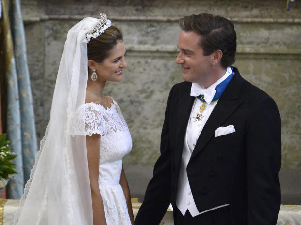 Sweden's Princess Madeleine weds Ap767510