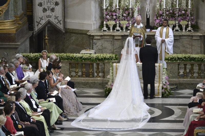 Sweden's Princess Madeleine weds B10f2610