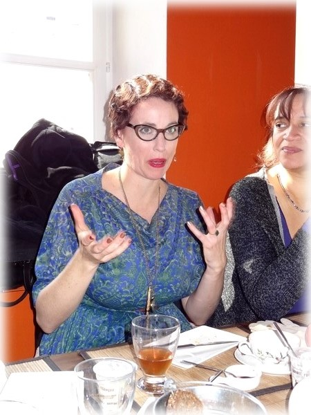 Thé, Ombrelle et Octopus, une rencontre avec Gail Carriger ! Dsc03412