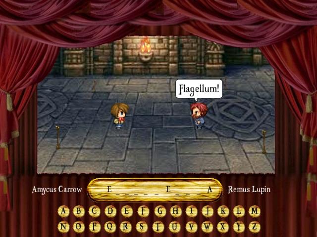 Fan-game Harry Potter (Pendu) Pendu10