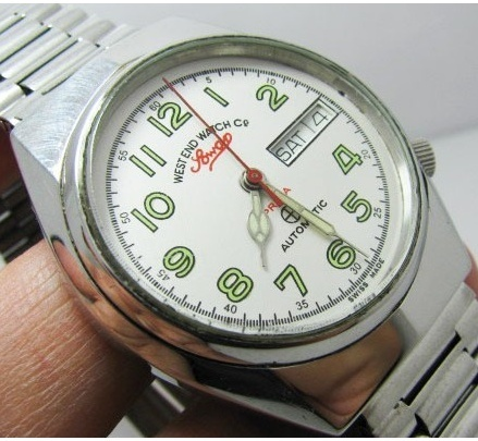 West-end, la montre de l'armée de Indes Sowar210