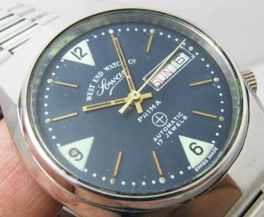 West-end, la montre de l'armée de Indes Sowar_10