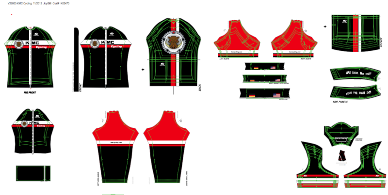 KMC Cycling Team Store Reorder- Voler Wtf10