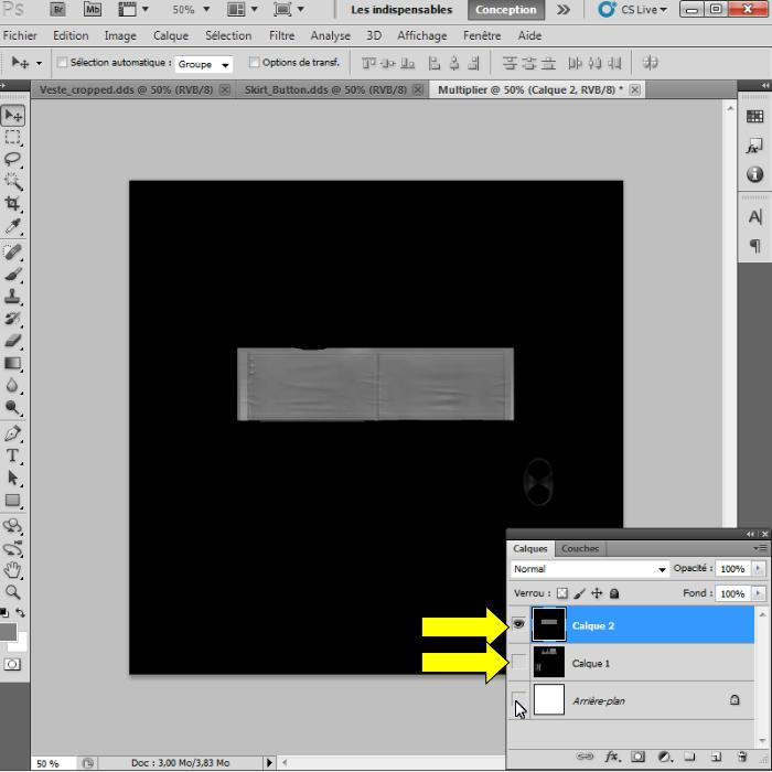 [Intermédiaire]Création des Mutiplier,Specular & Mask avec Photoshop au format DDS Psp-1010