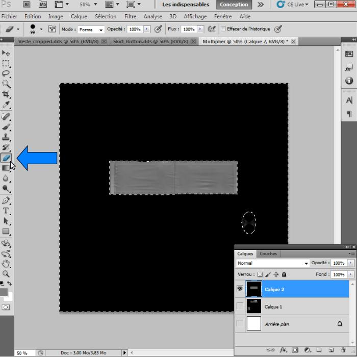 [Intermédiaire]Création des Mutiplier,Specular & Mask avec Photoshop au format DDS Psp-1310