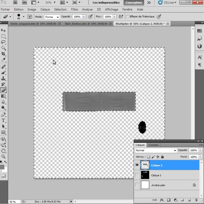 [Intermédiaire]Création des Mutiplier,Specular & Mask avec Photoshop au format DDS Psp-1510