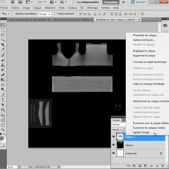 [Intermédiaire]Création des Mutiplier,Specular & Mask avec Photoshop au format DDS Psp-1710