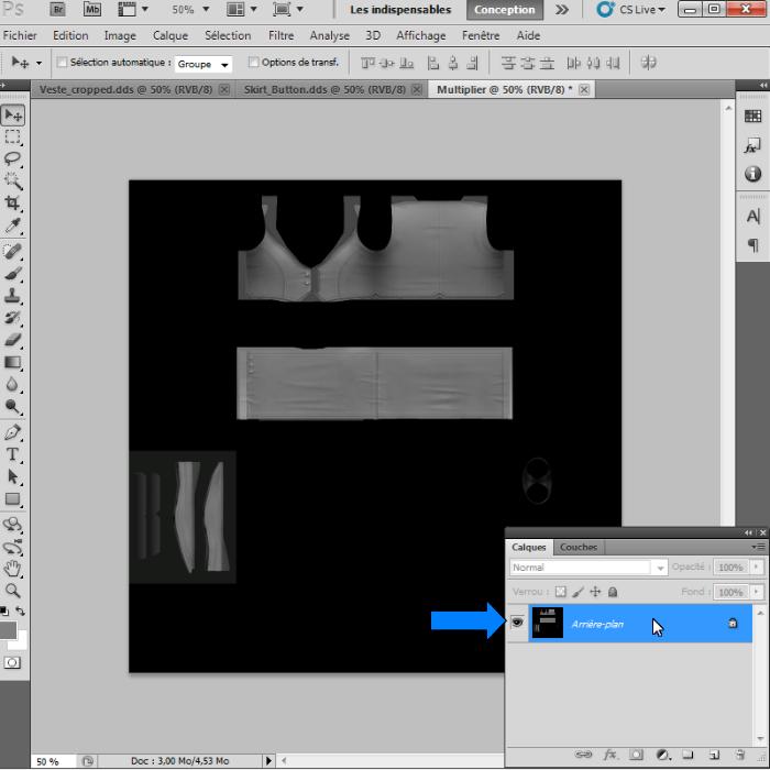 [Intermédiaire]Création des Mutiplier,Specular & Mask avec Photoshop au format DDS Psp-1810