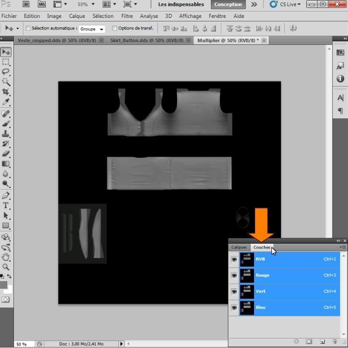 [Intermédiaire]Création des Mutiplier,Specular & Mask avec Photoshop au format DDS Psp-1910