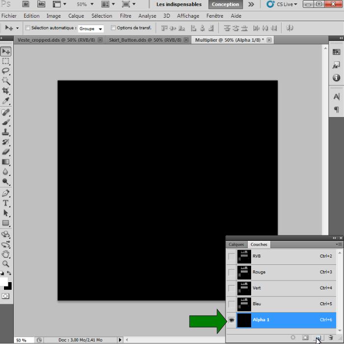 [Intermédiaire]Création des Mutiplier,Specular & Mask avec Photoshop au format DDS Psp-2110