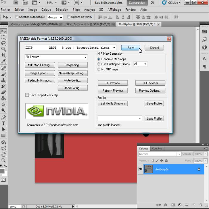 [Intermédiaire]Création des Mutiplier,Specular & Mask avec Photoshop au format DDS Psp-3510
