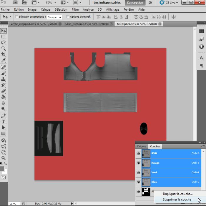 [Intermédiaire]Création des Mutiplier,Specular & Mask avec Photoshop au format DDS Psp-3610