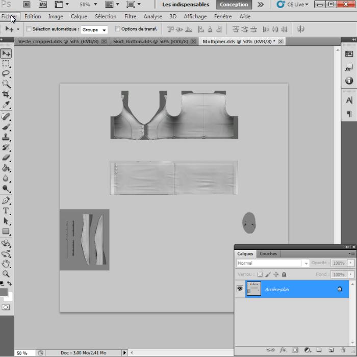 [Intermédiaire]Création des Mutiplier,Specular & Mask avec Photoshop au format DDS Psp-3910