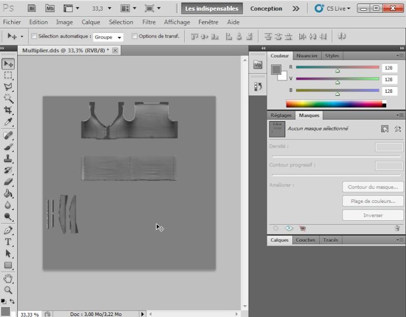 [Intermédiaire]Création des Mutiplier,Specular & Mask avec Photoshop au format DDS Psp-5210