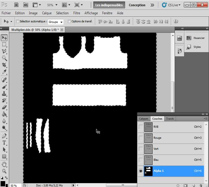 [Intermédiaire]Création des Mutiplier,Specular & Mask avec Photoshop au format DDS Psp-5810