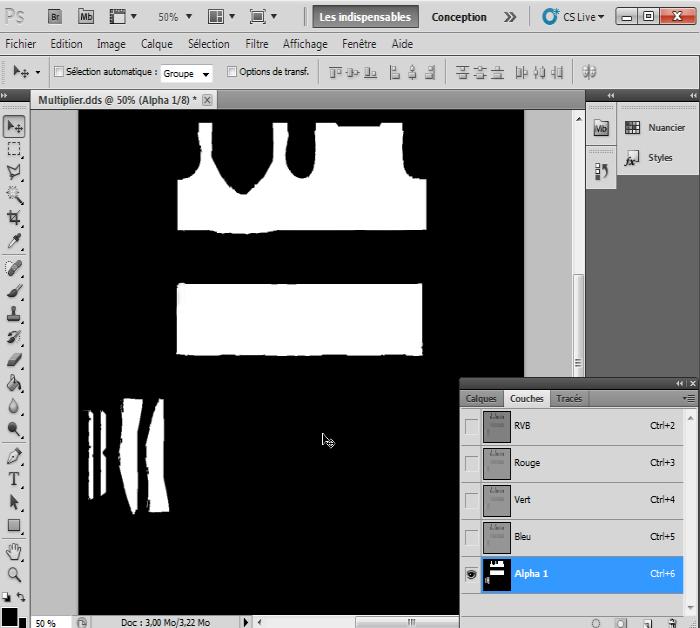 [Intermédiaire]Création des Mutiplier,Specular & Mask avec Photoshop au format DDS Psp-5910
