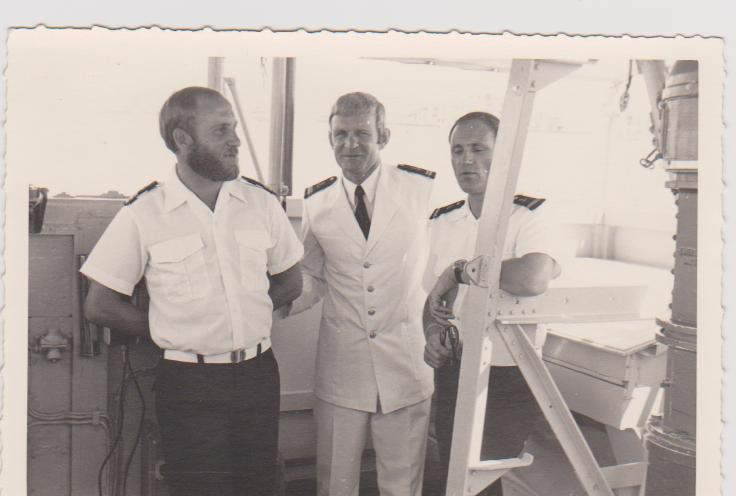 [ Divers Gendarmerie Maritime ] Port de la barbe en gendarmerie maritime P_788_10
