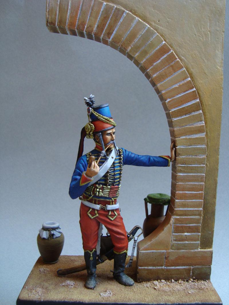 Hussard d'après K. Rocco 37r10