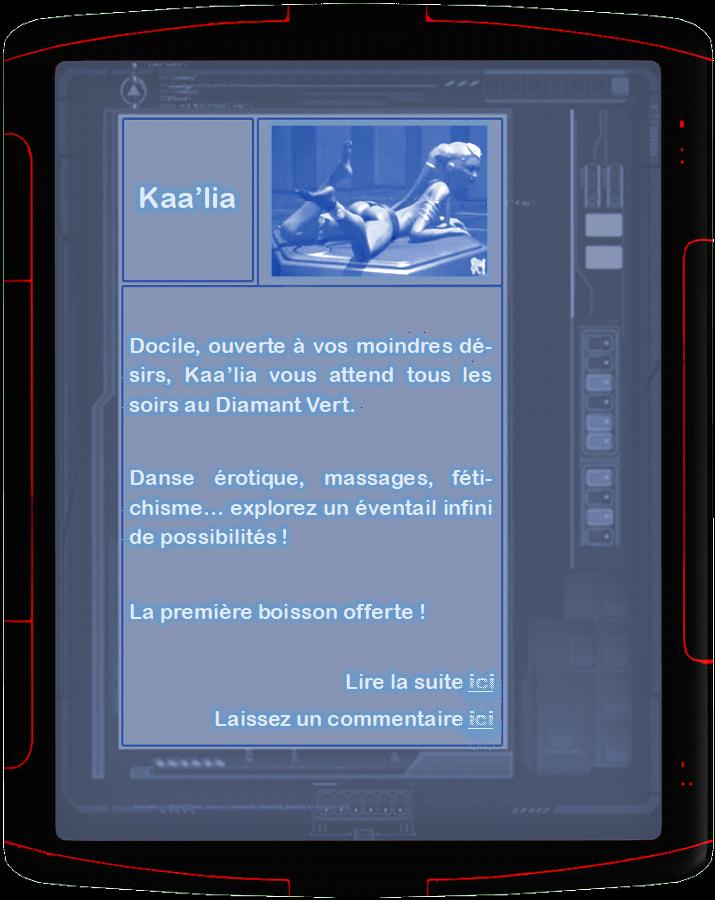 """[18+] """"Vous vous apprêtez à envoyer un message à Kaa'lia"""" Annonc13"""
