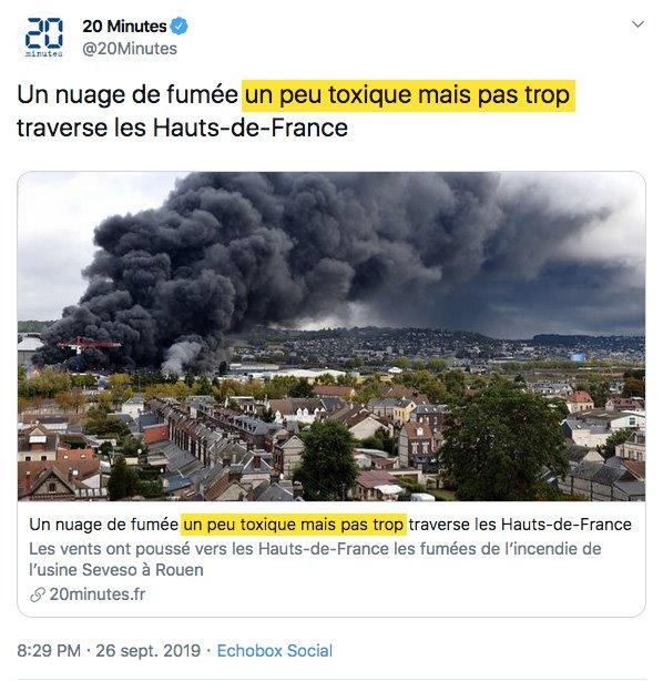 ⚡URGENT : Incendie dans une usine classée Seveso à Rouen - Page 2 Rouen10