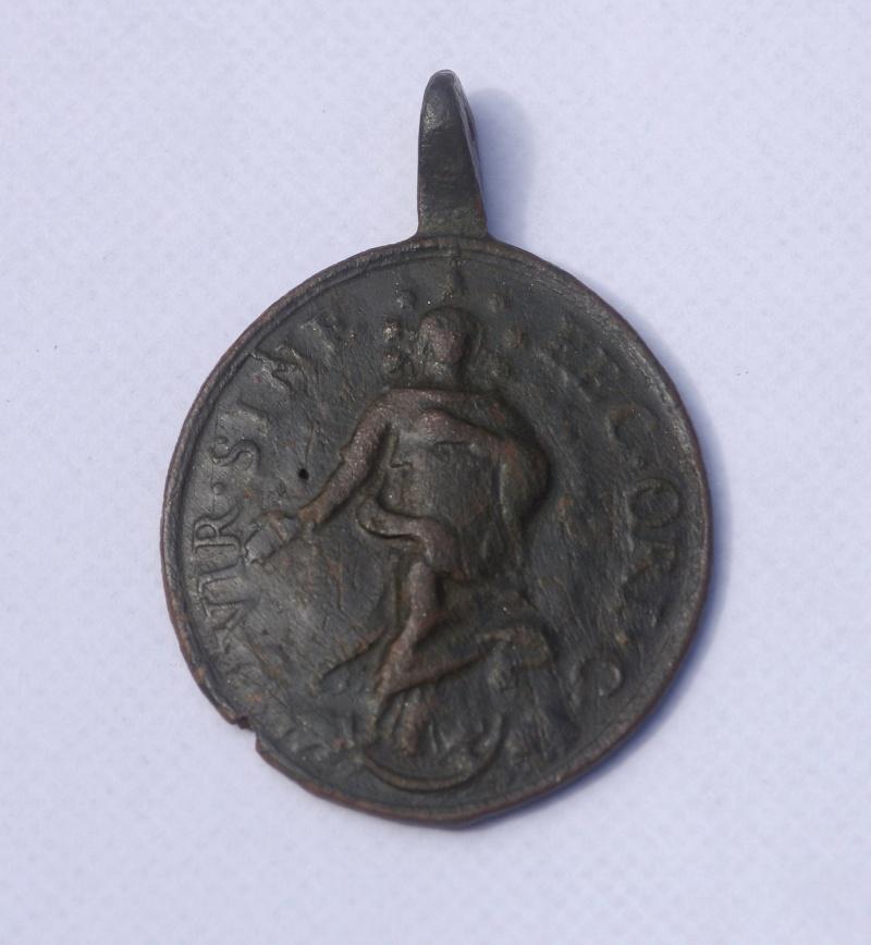 Médaille St-Jacques-le-Majeur - XVIIIème Saint_13