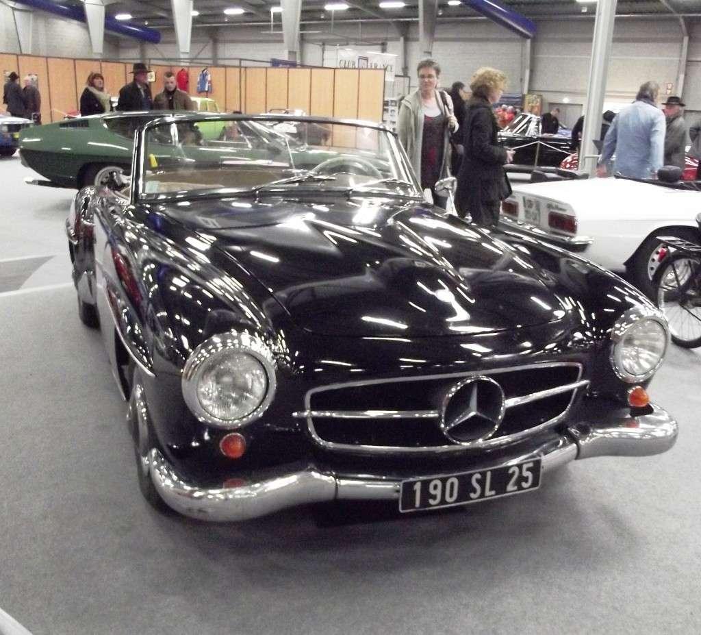 Mercedes 190 SL (construite de 1954 à 1963 ) Photo322