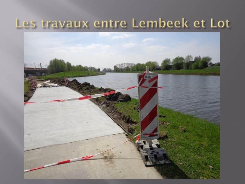 Canal Bruxelles-Charleroi  partie Flamande Halle(Lembeek) - Sint-Pieters-Leeuw - EV5 - Eurovelo 5 - F20 - Page 2 16353310