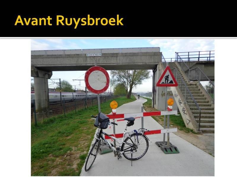 Canal Bruxelles-Charleroi  partie Flamande Halle(Lembeek) - Sint-Pieters-Leeuw - EV5 - Eurovelo 5 - F20 - Page 2 40074410