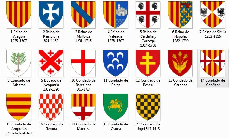 Emblemas Corona de Aragón 113
