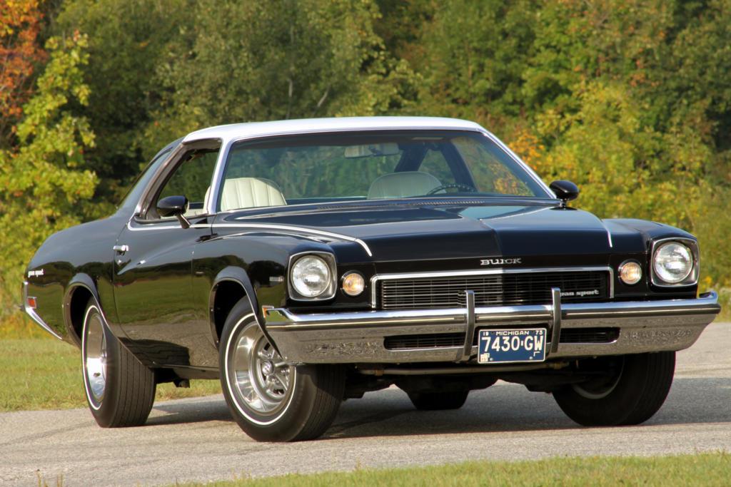 '73 Buick Gran Sport vinyl top material 7909010