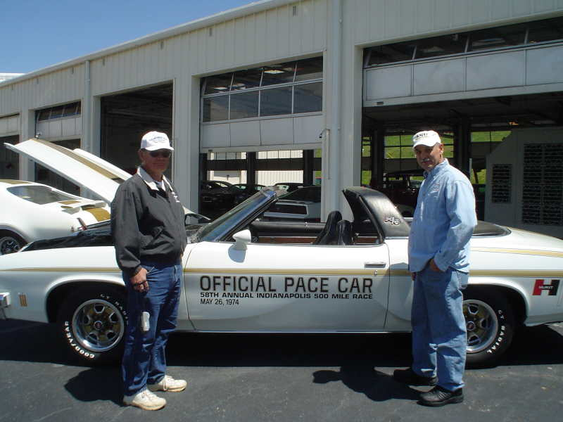 The 74 Olds Pace car Question Paceca10