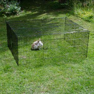 Lot enclos lapin + divers accesoires (rat+lapins) Freila10