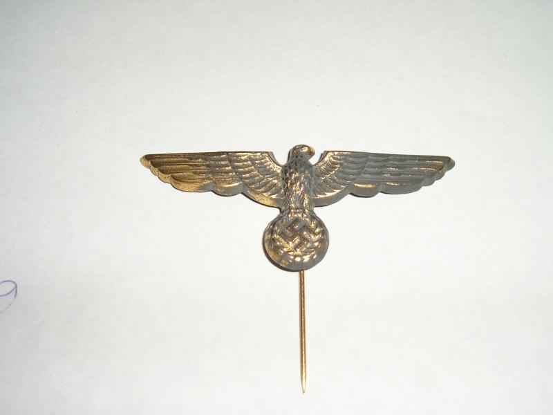 aigle de la marine metal doré 6.6 cms 3_00810