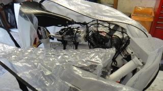 Optimaliser le rangement des bagages sur le Brompton Dsc03015