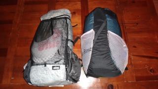 Optimaliser le rangement des bagages sur le Brompton Dsc03017
