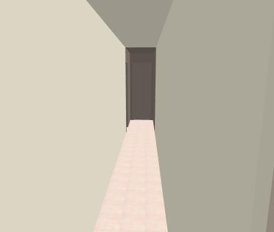 Conseils peinture couloir trop étroit, trop long, trop sombre... Caramb22