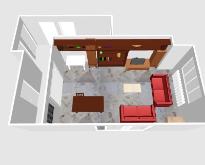 Choix de couleurs : Pièce à vivre/entrée/couloir, besoin de conseils ! Nouveau : Photos avant/après Phrama12