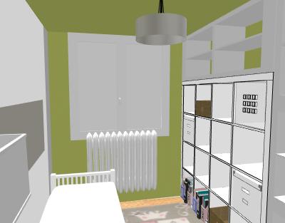 aménagement / déco bureau chambre d'amis Profde18