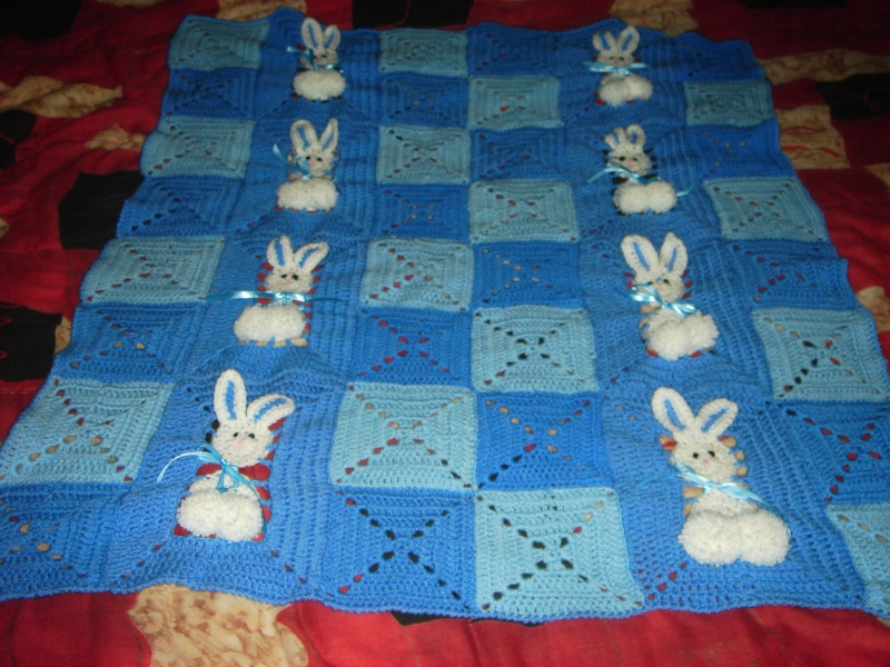 ma couverture lapin 00713