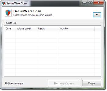 SecureWare 1.5.38.26 - Ένα απλό εργαλείο για τον έλεγχο για ιούς σε USB 12951610