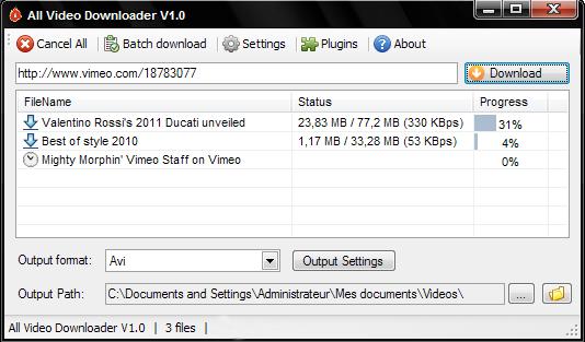 AllVideoDownloader 4.9 - Κατεβάστε και μετατατρέψετε βίντεο από 280 sites   Allvid10