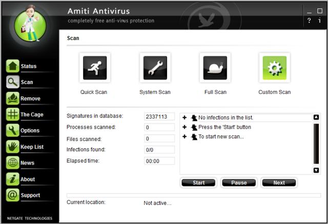 Amiti Antivirus 1.0.305.0 - Aποτελεσματικό και εύκολο στη χρήση antivirus για τον υπολογιστή σας Amiti_10