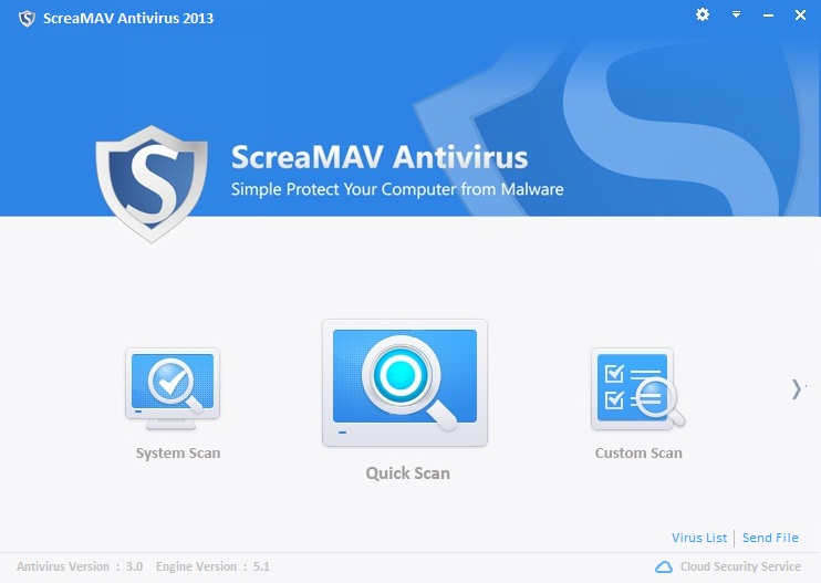 ScreaMAV Antivirus 2013 3.3 Antivi10