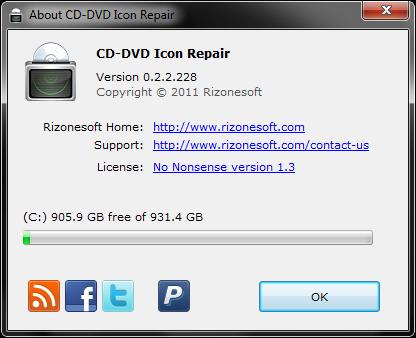 CD-DVD Icon Repair 0.2.4.245 B10