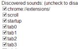Chrome Sounds 1.1 - Προσθέτει στον Chrome ήχους Chrome10