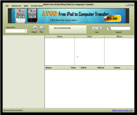 AVGO Free iPad/iPhone/iPod to Computer Transfer 1.0.0 Free-i10